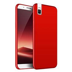 Coque Plastique Rigide Etui Housse Mat M01 pour Huawei Honor 7i shot X Rouge