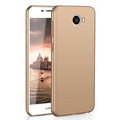Coque Plastique Rigide Etui Housse Mat M01 pour Huawei Honor Play 5 Or