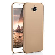 Coque Plastique Rigide Etui Housse Mat M01 pour Huawei Honor Play 6 Or