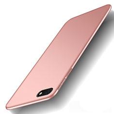 Coque Plastique Rigide Etui Housse Mat M01 pour Huawei Honor Play 7 Or Rose