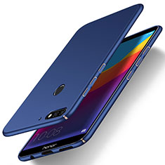 Coque Plastique Rigide Etui Housse Mat M01 pour Huawei Honor Play 7A Bleu
