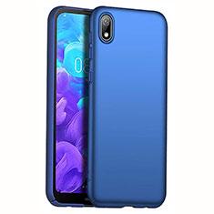 Coque Plastique Rigide Etui Housse Mat M01 pour Huawei Honor Play 8 Bleu