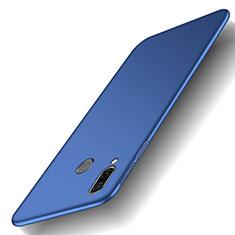 Coque Plastique Rigide Etui Housse Mat M01 pour Huawei Honor Play Bleu