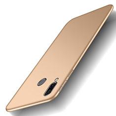 Coque Plastique Rigide Etui Housse Mat M01 pour Huawei Honor Play Or