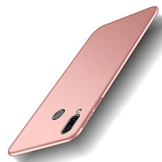 Coque Plastique Rigide Etui Housse Mat M01 pour Huawei Honor Play Or Rose