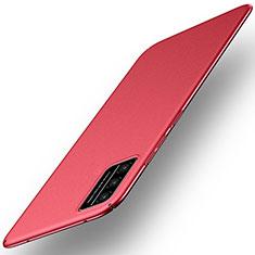 Coque Plastique Rigide Etui Housse Mat M01 pour Huawei Honor Play4T Pro Rouge