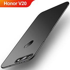 Coque Plastique Rigide Etui Housse Mat M01 pour Huawei Honor V20 Noir