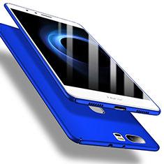 Coque Plastique Rigide Etui Housse Mat M01 pour Huawei Honor V8 Bleu