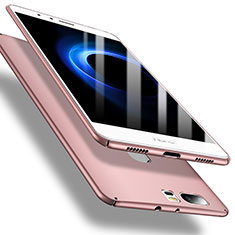Coque Plastique Rigide Etui Housse Mat M01 pour Huawei Honor V8 Or Rose