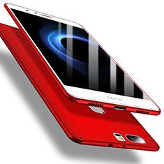 Coque Plastique Rigide Etui Housse Mat M01 pour Huawei Honor V8 Rouge