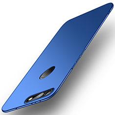 Coque Plastique Rigide Etui Housse Mat M01 pour Huawei Honor View 20 Bleu