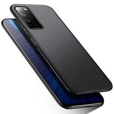 Coque Plastique Rigide Etui Housse Mat M01 pour Huawei Honor X10 5G Noir