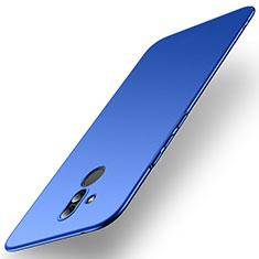 Coque Plastique Rigide Etui Housse Mat M01 pour Huawei Maimang 7 Bleu
