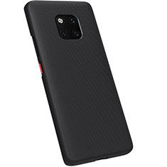 Coque Plastique Rigide Etui Housse Mat M01 pour Huawei Mate 20 Pro Noir