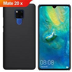 Coque Plastique Rigide Etui Housse Mat M01 pour Huawei Mate 20 X Noir