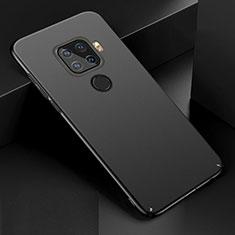 Coque Plastique Rigide Etui Housse Mat M01 pour Huawei Mate 30 Lite Noir