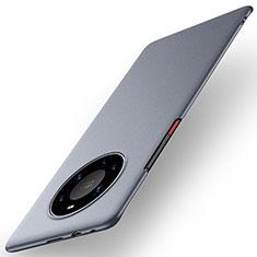 Coque Plastique Rigide Etui Housse Mat M01 pour Huawei Mate 40 Pro+ Plus Gris