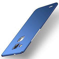 Coque Plastique Rigide Etui Housse Mat M01 pour Huawei Mate 7 Bleu