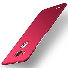 Coque Plastique Rigide Etui Housse Mat M01 pour Huawei Mate 7 Rouge