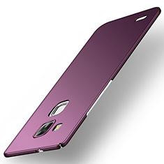 Coque Plastique Rigide Etui Housse Mat M01 pour Huawei Mate 7 Violet