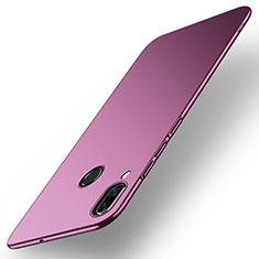 Coque Plastique Rigide Etui Housse Mat M01 pour Huawei Nova 3 Violet