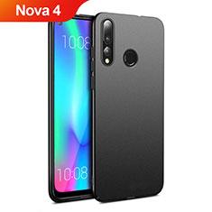 Coque Plastique Rigide Etui Housse Mat M01 pour Huawei Nova 4 Noir