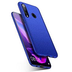 Coque Plastique Rigide Etui Housse Mat M01 pour Huawei Nova 4e Bleu