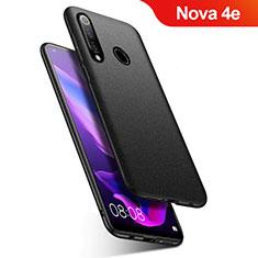Coque Plastique Rigide Etui Housse Mat M01 pour Huawei Nova 4e Noir