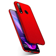 Coque Plastique Rigide Etui Housse Mat M01 pour Huawei Nova 4e Rouge