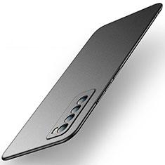 Coque Plastique Rigide Etui Housse Mat M01 pour Huawei Nova 7 5G Noir