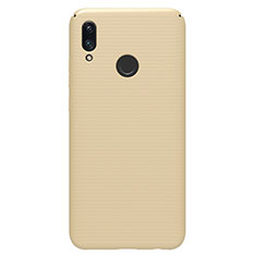 Coque Plastique Rigide Etui Housse Mat M01 pour Huawei P Smart (2019) Or