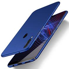 Coque Plastique Rigide Etui Housse Mat M01 pour Huawei P20 Lite Bleu
