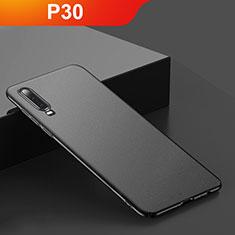 Coque Plastique Rigide Etui Housse Mat M01 pour Huawei P30 Noir