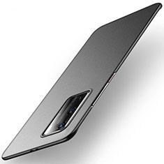 Coque Plastique Rigide Etui Housse Mat M01 pour Huawei P40 Pro Noir