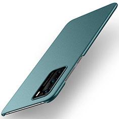 Coque Plastique Rigide Etui Housse Mat M01 pour Huawei P40 Vert
