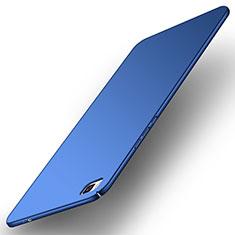 Coque Plastique Rigide Etui Housse Mat M01 pour Huawei P8 Bleu