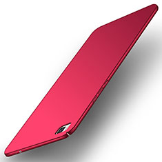 Coque Plastique Rigide Etui Housse Mat M01 pour Huawei P8 Rouge