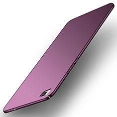 Coque Plastique Rigide Etui Housse Mat M01 pour Huawei P8 Violet