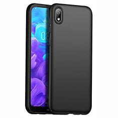 Coque Plastique Rigide Etui Housse Mat M01 pour Huawei Y5 (2019) Noir