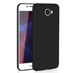 Coque Plastique Rigide Etui Housse Mat M01 pour Huawei Y5 II Y5 2 Noir