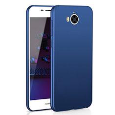 Coque Plastique Rigide Etui Housse Mat M01 pour Huawei Y5 III Y5 3 Bleu