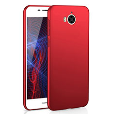 Coque Plastique Rigide Etui Housse Mat M01 pour Huawei Y5 III Y5 3 Rouge