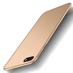 Coque Plastique Rigide Etui Housse Mat M01 pour Huawei Y5 Prime (2018) Or