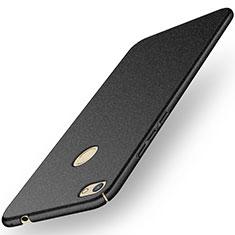 Coque Plastique Rigide Etui Housse Mat M01 pour Huawei Y6 Pro (2017) Noir