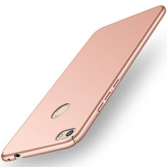 Coque Plastique Rigide Etui Housse Mat M01 pour Huawei Y6 Pro (2017) Or Rose