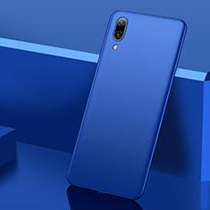 Coque Plastique Rigide Etui Housse Mat M01 pour Huawei Y7 Prime (2019) Bleu