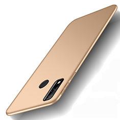 Coque Plastique Rigide Etui Housse Mat M01 pour Huawei Y8s Or