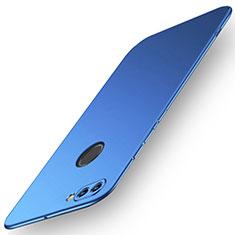 Coque Plastique Rigide Etui Housse Mat M01 pour Huawei Y9 (2018) Bleu