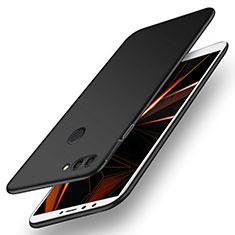 Coque Plastique Rigide Etui Housse Mat M01 pour Huawei Y9 (2018) Noir