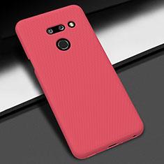 Coque Plastique Rigide Etui Housse Mat M01 pour LG G8 ThinQ Rouge